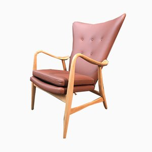 Vintage Lounge Chair by Madsen & Schübel for Vik And Blindheim