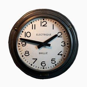 Französische Mid-Century Uhr von Brillié, 1950er