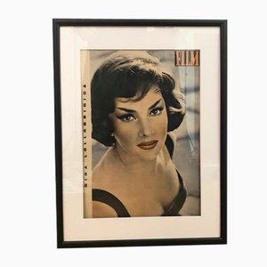 Vintage Gina Lollobrigida FILM Magazine Cover, 1960s