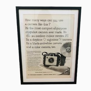 Vintage Kodak Werbedruck, 1950er