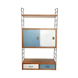 Mid-Century Wall Unit for String
