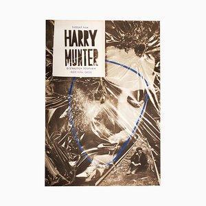 Vintage Harry Munter Filmposter von Milan Kniák, 1971