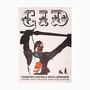 El Cid Filmposter von Karel Machálek, 1969