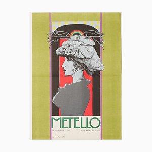 Mettelo Filmposter von Karel Machálek, 1970