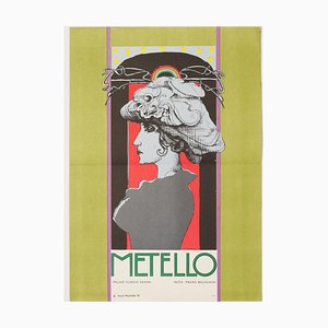 Mettelo Movie Poster by Karel Machálek, 1970