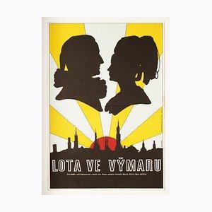 Lotte in Weimar Filmposter von Karel Machálek, 1976