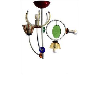 Lámpara de araña Lete de Andrea Anastasio para Artemide, años 90