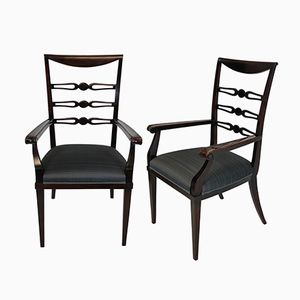 Vintage Dining Chairs by Paolo Buffa, 1940s, Set of 2