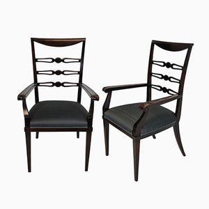 Vintage Esszimmerstühle von Paolo Buffa, 1940er, 2er Set
