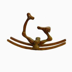 Caballo mecedor escultural de Denis Cospen, años 70