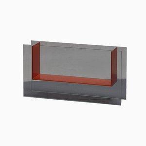 Jarrón de vidrio, años 70