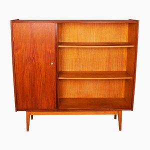 Vintage Cabinet with Bookshelf, 1960s