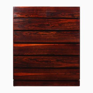 Mid-Century Rosewood Chest of Drawers by Arne Wahl Iversen, 1960s