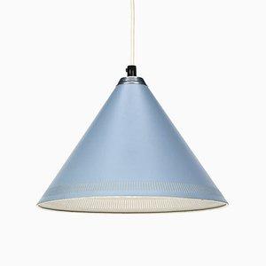 Lampe à Suspension Vintage Bleue de Lyfa, Danemark