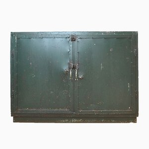Industrial Iron Cabinet, 1950s