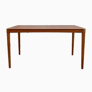 Tavolo da pranzo nr. 04 allungabile di H.W. Klein per Bramin, Danimarca, anni '60