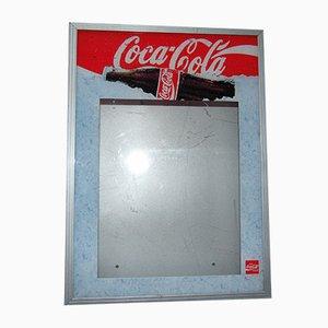 Cartel de Coca Cola vintage de neón, años 70