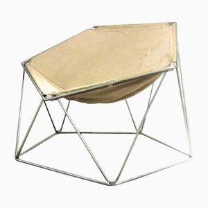 Chaise Penta Vintage par Kim Moltzer et Jean-Paul Barray pour Bofinger