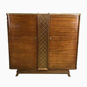 Art Deco Schrank aus Mahagoni