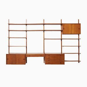 Large Danish Wall Unit, 1960s
