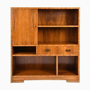 Art Deco Bookcase Cabinet, 1930s