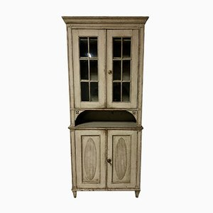 Antique Swedish Display Cupboard