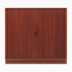 Cabinet with Tambour Doors by Peter Hvidt & Orla Mølgaard-Nielsen