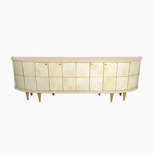 Halbmondförmiges italienisches Mid-Century Sideboard von La Permanente