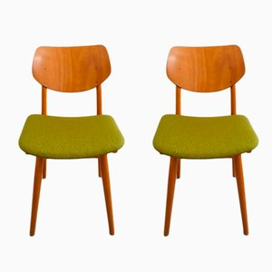 Vintage Dining Chairs from TON, 1960, Set of 2