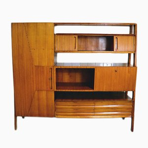 Mid-Century Living Room Shelving Unit from La Permanente Mobili Cantù, 1950s