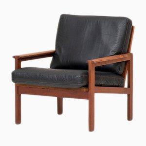 Dänischer Sessel von Illum Wikkelso für N. Eilersen, 1950er
