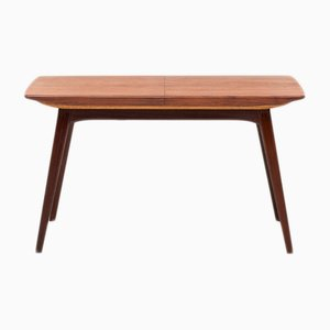 Teak Veneer Dining Table by Louis Van Teeffelen for Wébé, 1960s