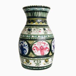 Vaso vintage in terracotta di André L'Helguen per Keraluc Quimper
