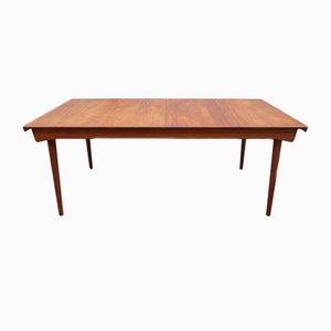 Model FD 540 Teak Solid Wood Dining Table by Finn Juhl for France & Søn, 1960s