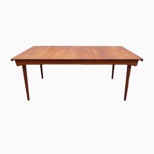 Tavolo da pranzo FD 540 in legno di teak massiccio di Finn Juhl per France & Søn, anni '60