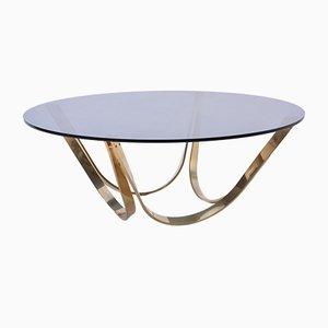 Tavolino da caffè nr. 2075 Mid-Century moderno di Werner Linder per Bacher