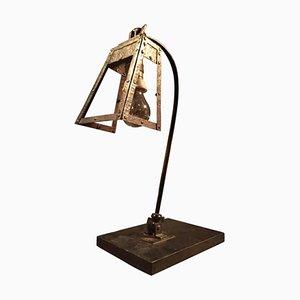 Lampe de Bureau Vintage en Fer