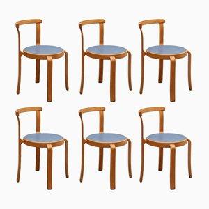 Stühle von Thygesen & Sørensen für Magnus Olesen, 1978, 6er Set
