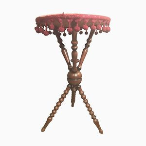 Antique Bohemian Side Table