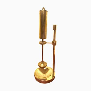 Vintage Danish Brass Oil Lamp by Ilse Ammonsen for Daproma
