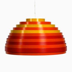 Lámpara colgante modelo Dynamic austriaca de Wilhelm Weste para Vest, años 60