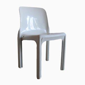 Vintage Selene Stuhl von Vico Magistretti für Artemide Milano