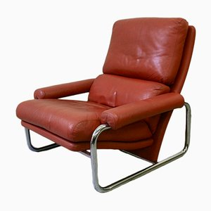 Leather Lounge Chair from Leolux, 1960s