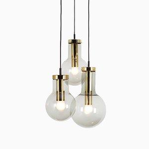 Lámparas colgantes Maxi Bulb de Raak, años 60. Juego de 3