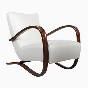 Art Deco H269 Armchair by Jindrich Halabala for Thonet, 1930s