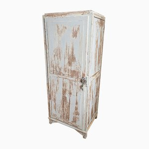 Patinated Workshop Armoire, 1950s