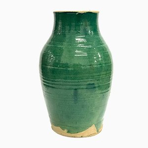 Large Handmade Glazed Pot by Golnaz