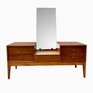 Vintage Dressing Table with Mirror from Uniflex