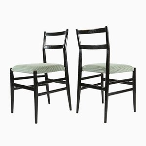 Leggera Chairs by Gio Ponti for Cassina, 1950s, Set of 6