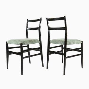 Leggera Stühle von Gio Ponti für Cassina, 1950er, 6er Set